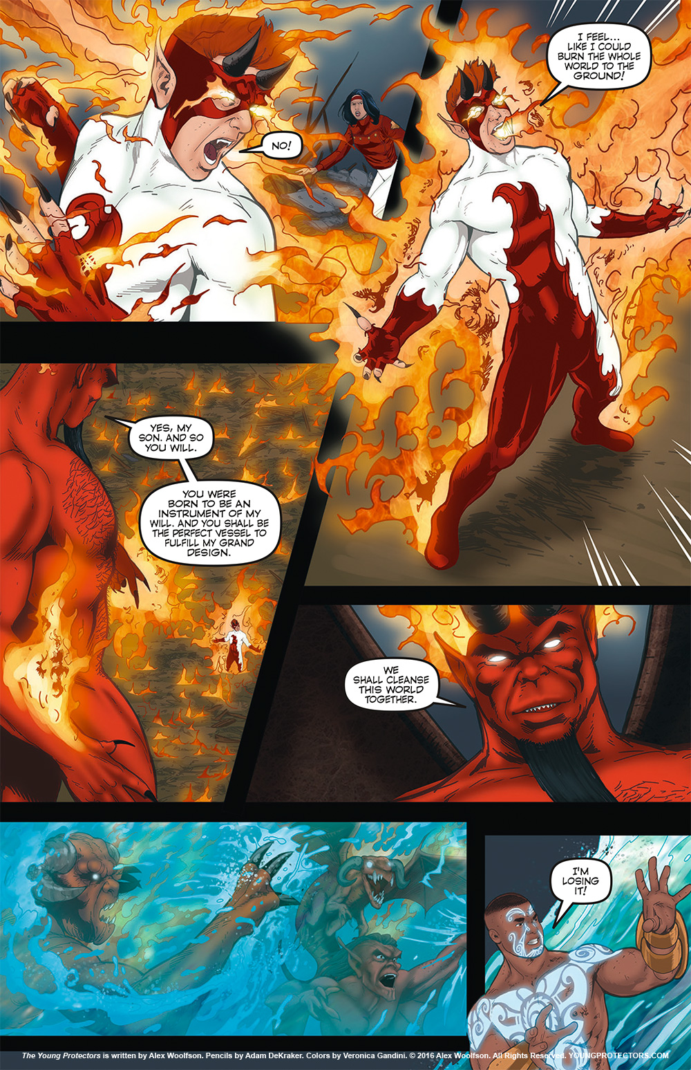 The Young Protectors: Engaging The Enemy Chapter 5—Page 29