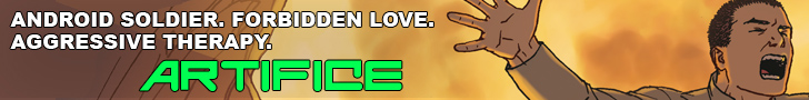 Artifice Webcomic Link Leaderboard 728x90
