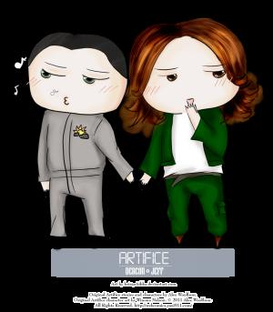 Deacon and Jeff cuteness by ~ksiazeAikka