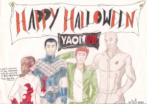 Happy Halloween, Yaoi 911! by Lara Idiart