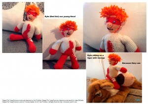 Kyle crochet by Sapfo