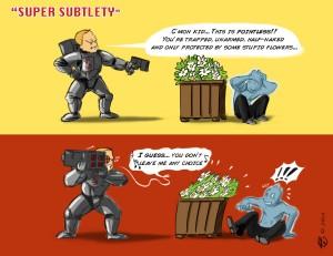 Super Subtlety by Armel Oenn