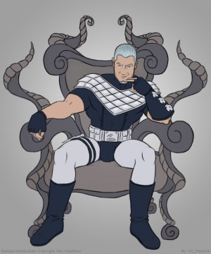 The Annihilator On His Throne by frenchie