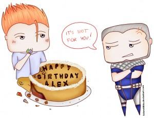 Happy Birthday, Alex! by Aikka