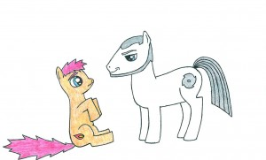 Kyle and Anni Ponies by DaniVilliers