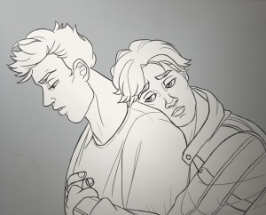 Kyle and Mitch by silibub