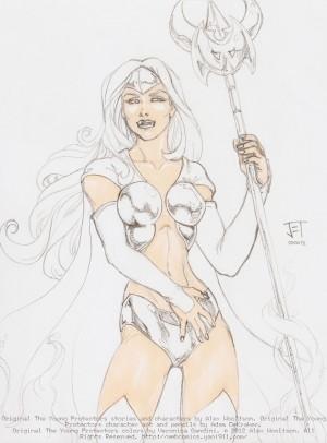 Platinum Priestess by Jeremy Thew