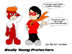 Really Young Protectors by Robert Paul