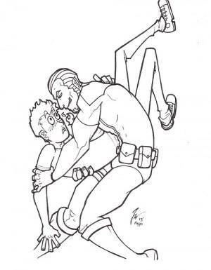 The Annihilator/Kyle Doodle by Jo Hopps