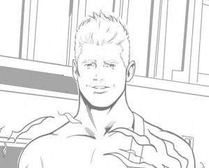 AMW_Comics_TYP-ETE-Romance-Card-REDHOT-DeKraker-Pencils-SFW_HEADSHOT