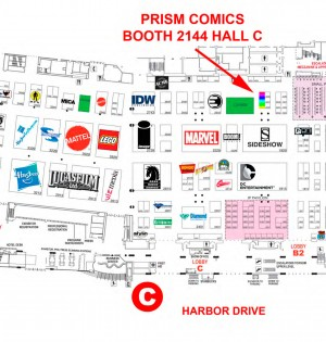 Map to Prism Booth